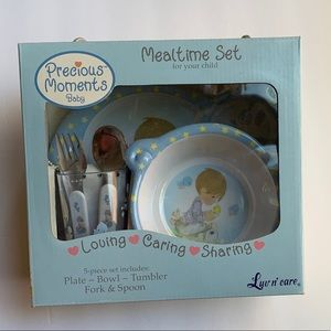 Precious Moments Kids Mealtime Set